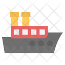 Freight Ship Icon