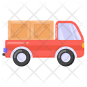 Cargo Truck Freight Truck Goods Delivery Icon