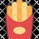 French Fries Potato Icon