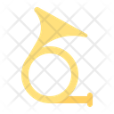 French Horn Instrument Icon