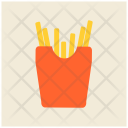 French Fries Chips Icon