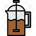 French Press Drink Icon
