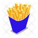 Chips Healthy Bowl Icon