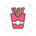 French Fires French Fries Icon