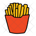 French Fries Fries Icon