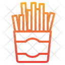 Frenchfries Fast Food Food Icon
