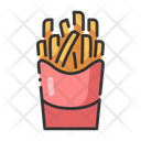 Ifrench Fries French Fries Potato Chips Icon