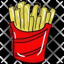 French Fries Potato Fries Fries Icon