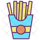 Ifrench Fries French Fries French Icon