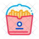 French Fries Food Icon