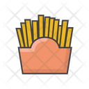French Fries Juck Food Fries Icon