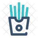 French Fries Stick Icon