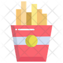 Afrench Fries Food Fries Icon