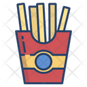 French Fries Potato Chips Food Icon