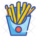French Fries Potatoes Fries Icon