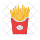 Fries Chips Fast Food Icon