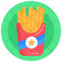 French Fries Potato Fries Fries Packet Icon