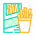 French Fries Chips Snack Icon