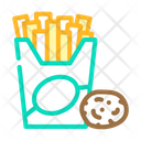 French Fries Potato Chips Fried Icon