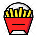 French Fries Fries Fast Food Icon