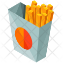 Fries French Fries Snacks Icon