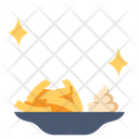 French Fries On Dish French Fries Dish Icon