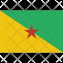 French Guiana National Icon