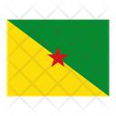French Guiana Flag Flags Icon