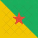 French Guiana Flag Icon