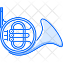 French Horn Music Icon