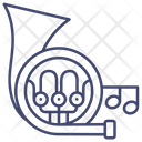 French horn Icon