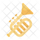 French Horn Musical Instrument Band Icon