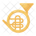French Horn Music Instrument Brass Icon