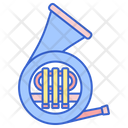 French Horn Horn Instrument Icon