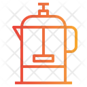 French Press Coffee Press Coffee Machine Icon
