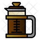 Coffee Drink Press Icon