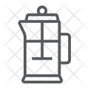 French Press Tea Icon