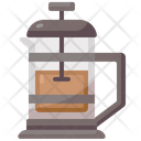 French Press Beverage Cafe Icon