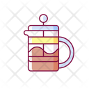 French Press Coffee Icon
