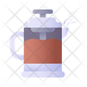 French Press Food Coffee Icon