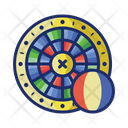 French Roulette French Game Icon