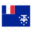 French Southern Territories Flag Flags Icon