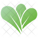 French Spinach Leaves Leaves Leaves Logo Icon