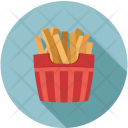 Frenchfries Fastfood Pack Icon
