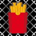 Frenchfries Potato Fastfood Icon