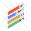 Frequency Chart Data Visualization Graphic Representation Icon