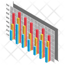 Equalizer Chart Frequency Chart Data Visualization Icon