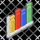 Frequency Graph Data Visualization Graphic Representation Icon