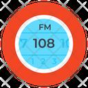 Fm Radio Frequency Modulation Icon