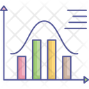 Dashboard Data Visualization Frequency Polygon Icon